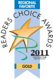 Winner, Readers Choice Award 2011